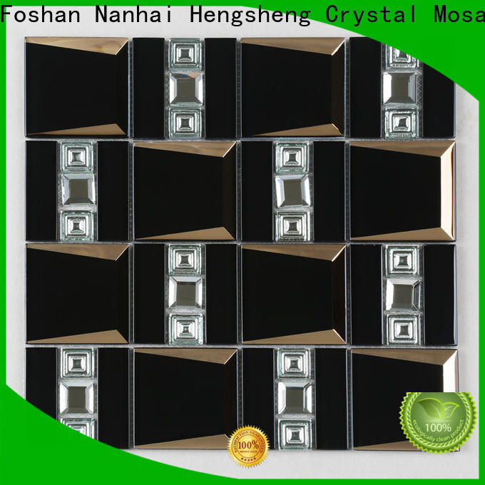 Heng Xing Custom glass and metal mosaic tile Suppliers