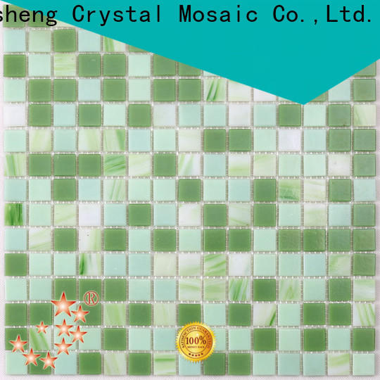 painted blue glass pool tile floor wholesale for fountain
