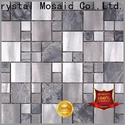 Wholesale mosaic tile sheets black Supply for villa