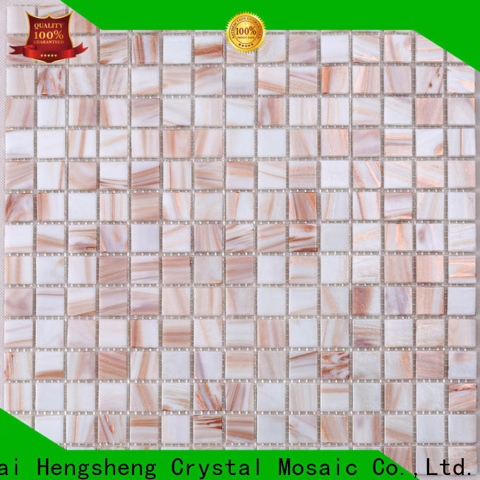 Heng Xing hand blue mosaic wall tile for business for spa