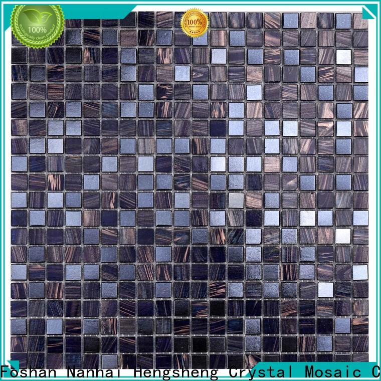 Heng Xing light 3x6 glass subway tile wholesale for spa