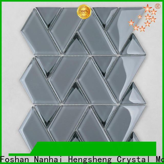 Latest white octagon floor tile flower Supply