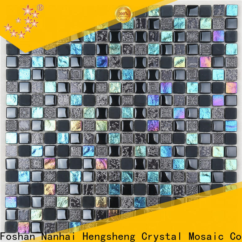 Heng Xing electroplated white beveled subway tile company for villa