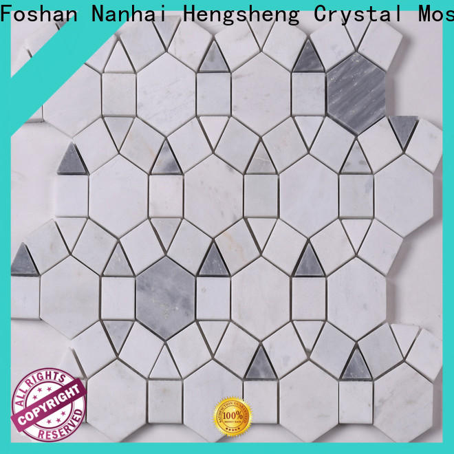 Heng Xing Best marble backsplash factory for living room
