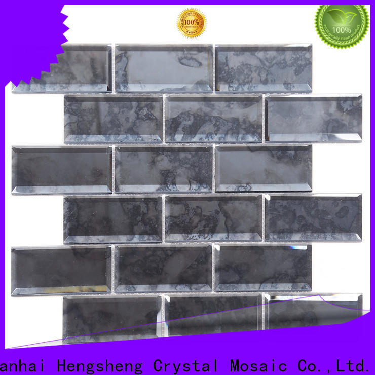 Heng Xing yms09 basket weave tile backsplash for business for kitchen