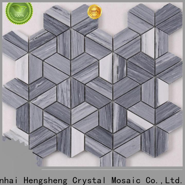 Heng Xing Carrara stone backsplash design for backsplash