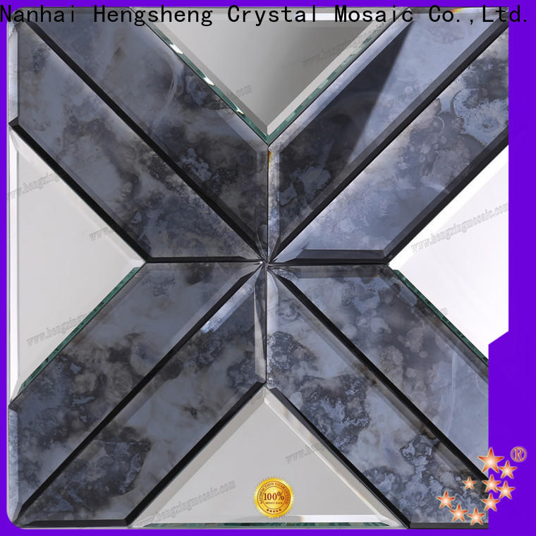 Heng Xing simple large white hex tile for business for hotel