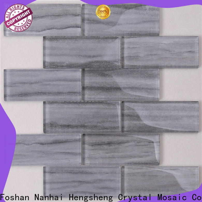Heng Xing beveling 6x24 slate tile for business for kitchen