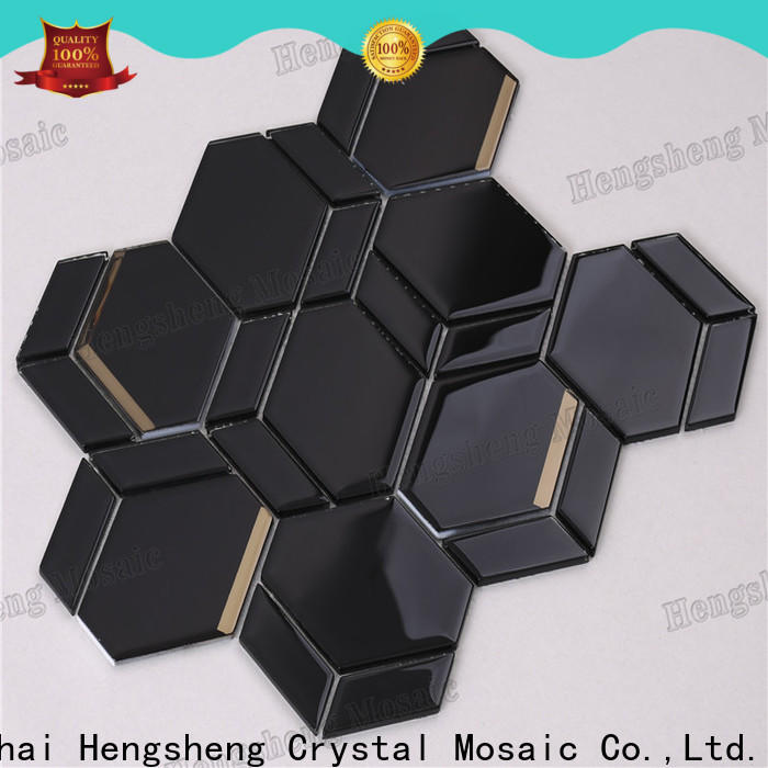 Top bliss iceland linear mosaic hexagon Supply