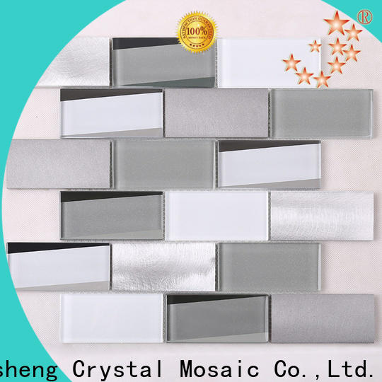 Heng Xing iridescent subway tile light gray factory for kitchen