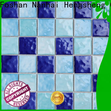 2x2 glass tile for pool hand for business for bathroom