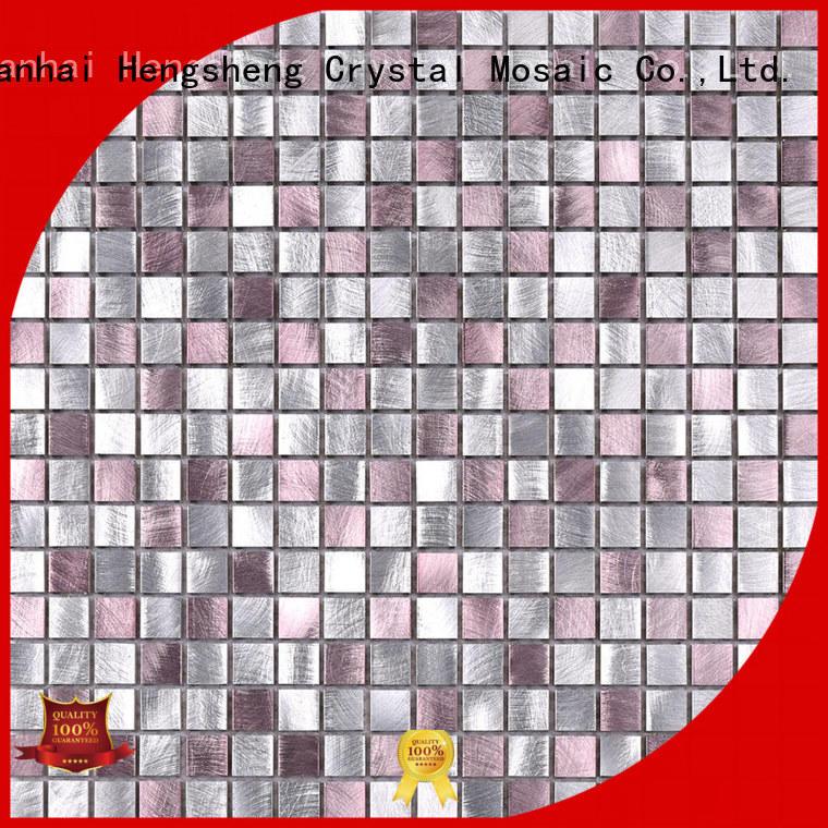 New glass mosaic hexagon customized for bathroom