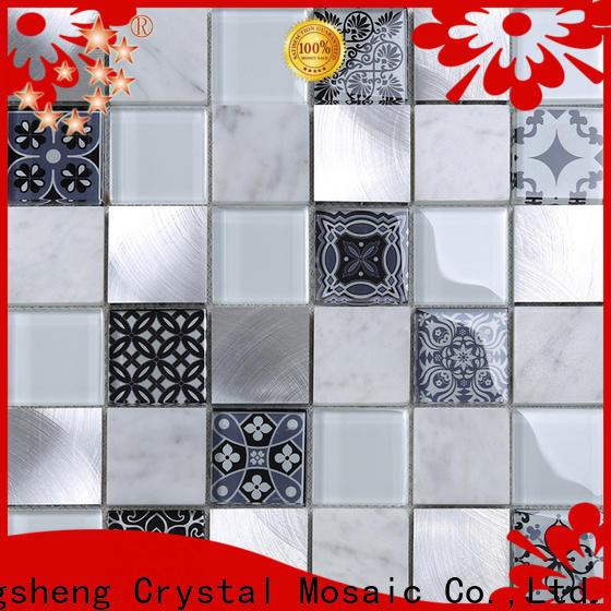 High-quality crackle backsplash tile metal personalized for villa