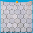 Heng Xing hexagon porcelain mosaic tile design for backsplash