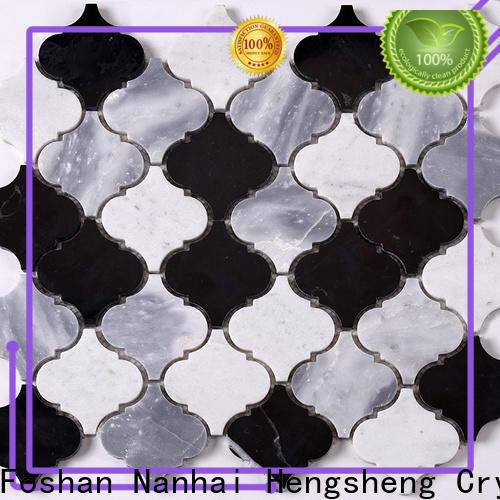 Heng Xing beautiful blue mosaic tile Suppliers for backsplash