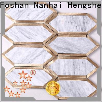 Heng Xing New carrara mosaic tile factory for backsplash