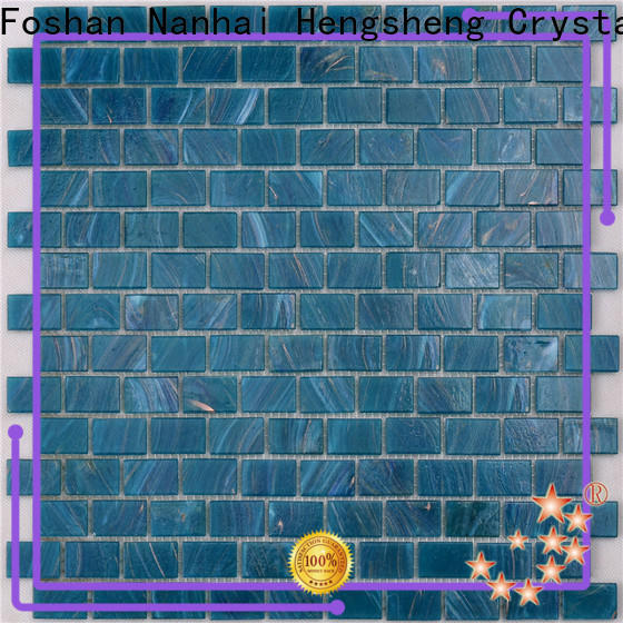 Heng Xing hqt04 pool mosaic tile for business for bathroom