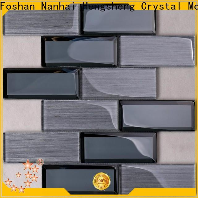 Heng Xing High-quality stainless steel tile backsplash supplier for kitchen