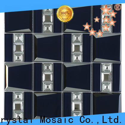 Heng Xing herringbone frosted glass tiles supplier for living room