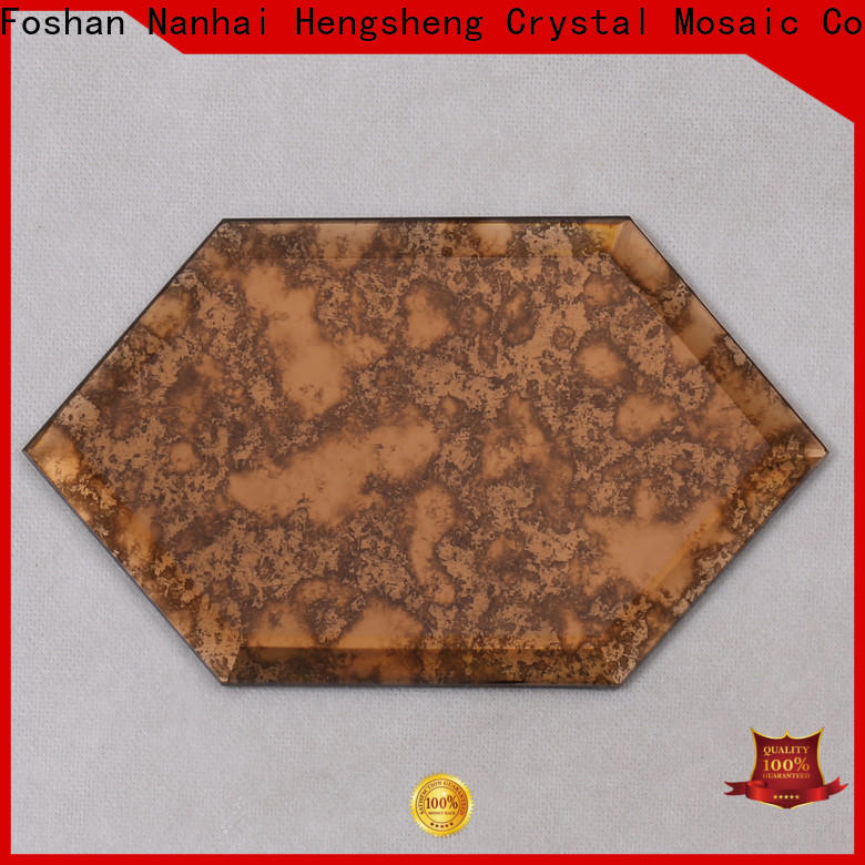 Heng Xing New brushed metal tile Suppliers for kitchen