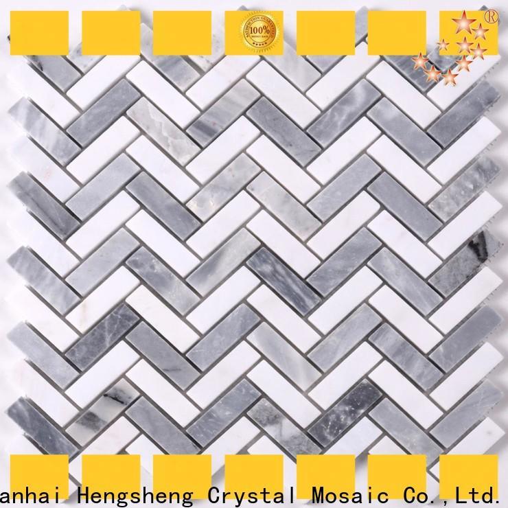 Heng Xing lantern grey mosaic tiles Supply for kitchen