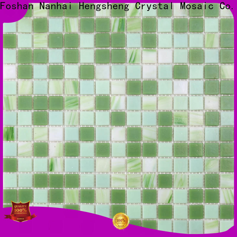 Heng Xing Best blue mosaic tiles for business for bathroom
