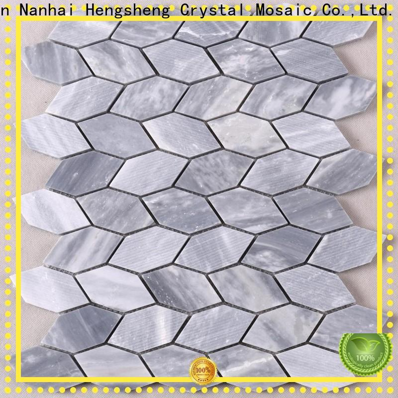 Heng Xing Latest marble mosaic tile factory for living room