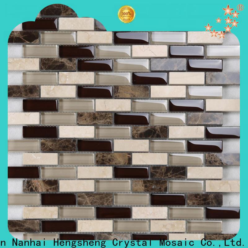 beveled bamboo ceramic tiles super factory for bathroom
