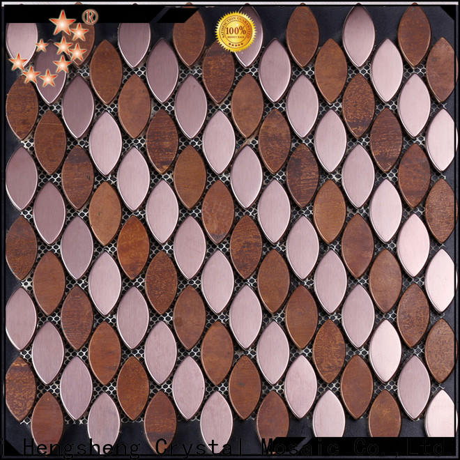 Heng Xing glass mosaic floor tiles company for villa