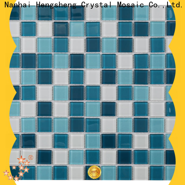 Heng Xing 2x2 marble mosaic tile factory price for fountain