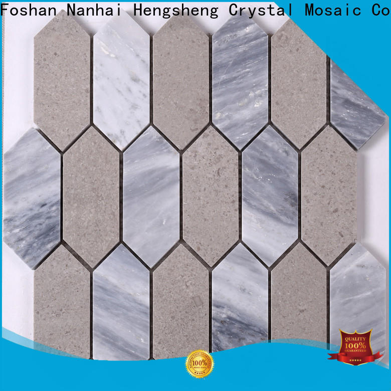 Heng Xing golden mosaico tiles with good price for bathroom