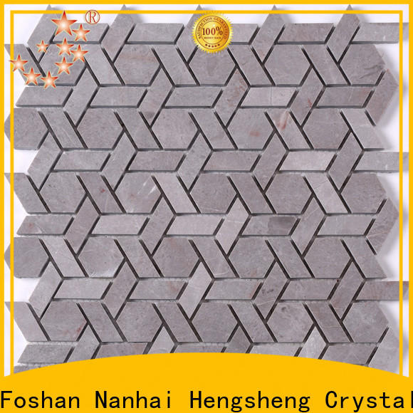 Heng Xing gray mosaic tile company Supply for hotel