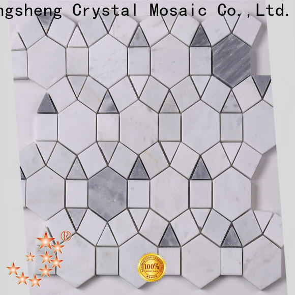 Heng Xing stone grey mosaic tiles manufacturers for hotel
