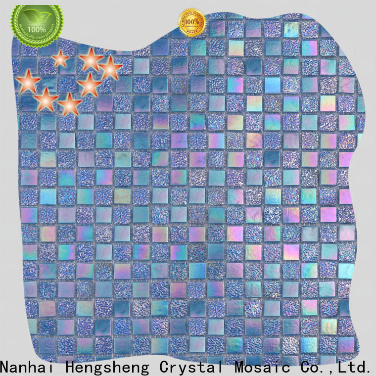 Heng Xing deck blue mosaic tile company for fountain