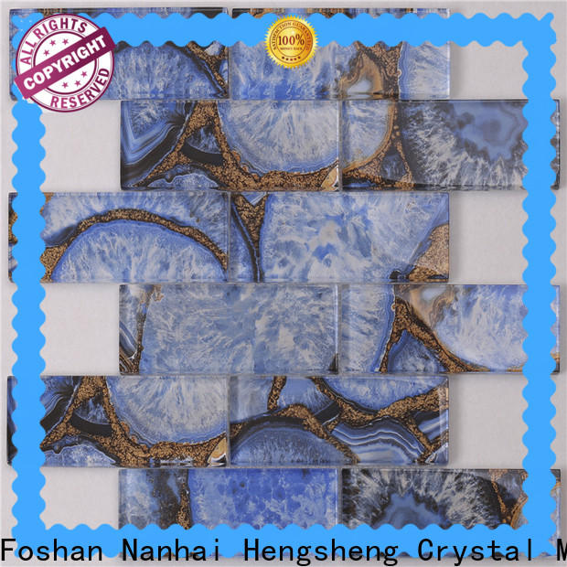 Wholesale black and white ceramic tile home manufacturers for bathroom