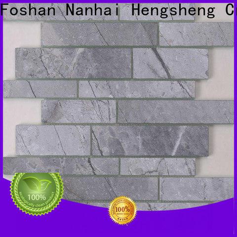 Heng Xing Carrara rhombus floor tile for business
