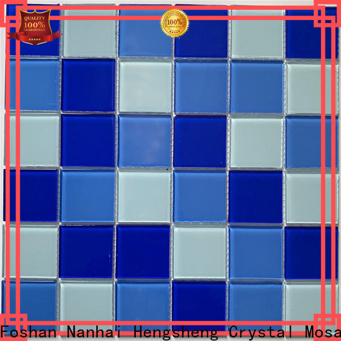 Heng Xing Wholesale swimming pool mosaic tiles manufacturers for spa