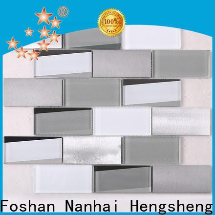 Heng Xing Wholesale glass corner shelf factory price for kitchen