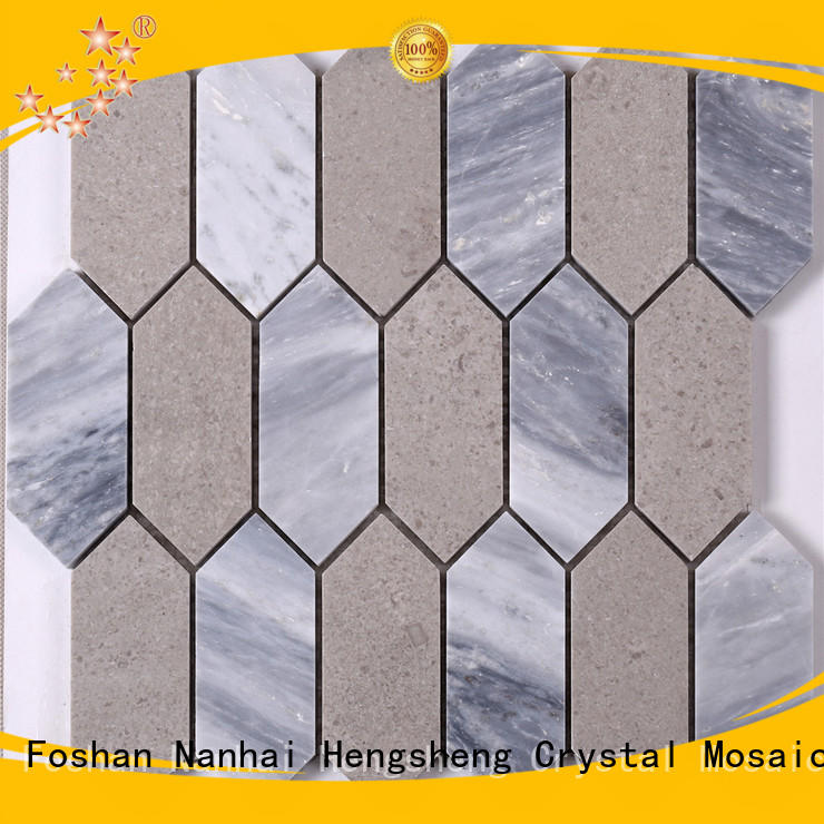 Heng Xing grey mosaic stones inquire now for villa