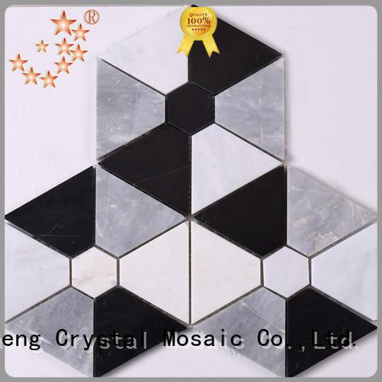 Heng Xing Latest tiendas de mosaic glass en eeuu customized for kitchen