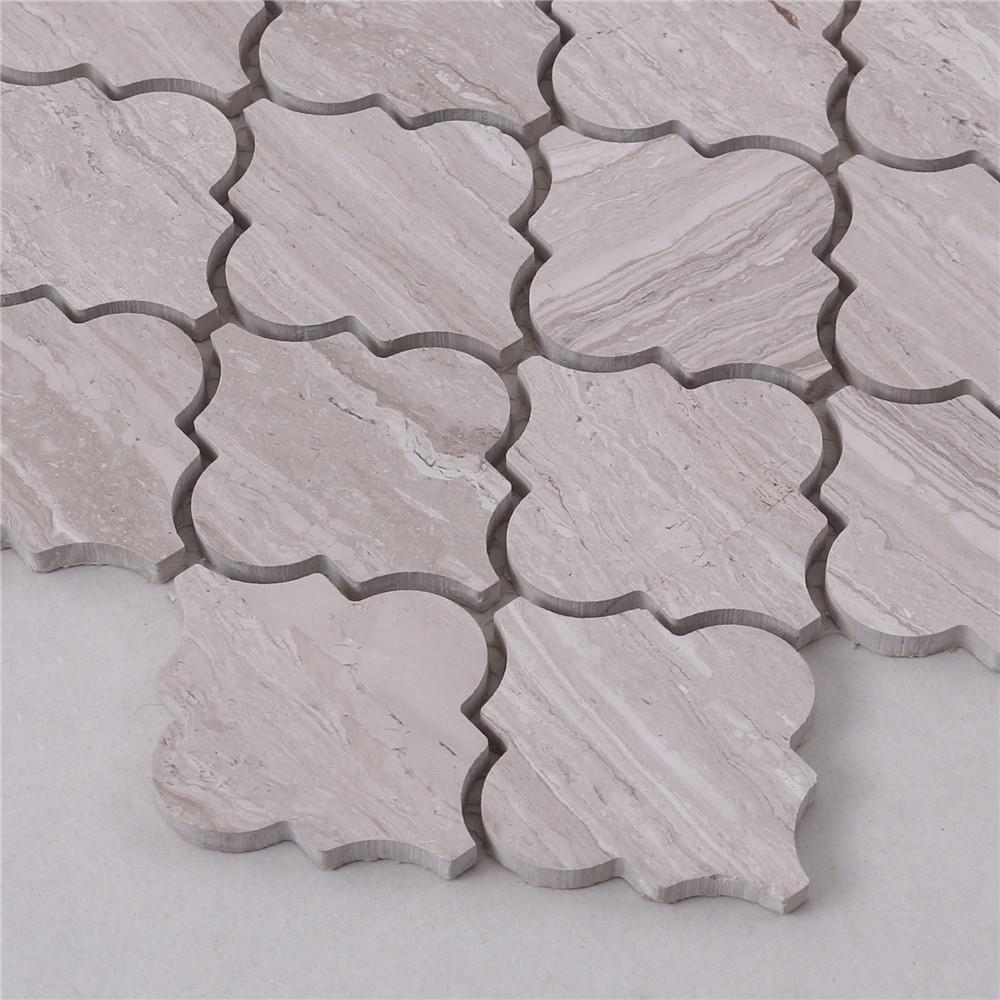 Heng Xing Carrara gray mosaic tile backsplash with good price for bathroom-3