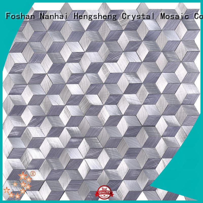 durable bisazza glass mosaic tiles Carrara customized for backsplash