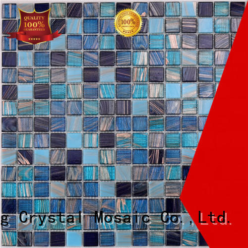 High-quality rectangular glass tiles deck Suppliers for swimming pool