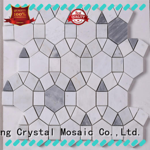 Heng Xing metal italian glass mosaic tiles directly sale for hotel