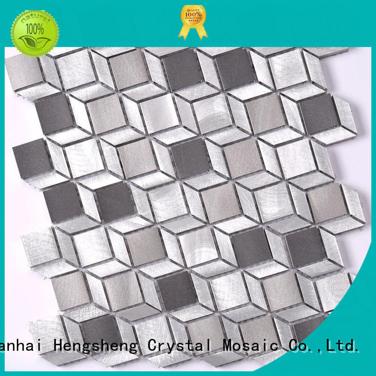 Heng Xing alloy metal mosaic directly sale for restuarant