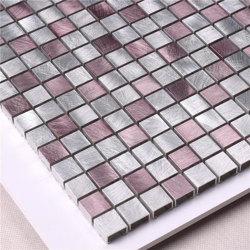 New glass mosaic hexagon customized for bathroom-3