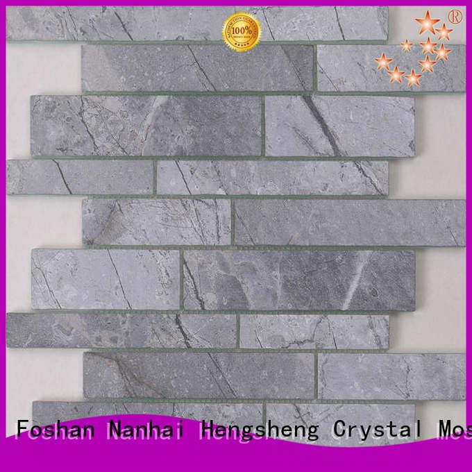 Heng Xing Carrara glass tiles manufacturers