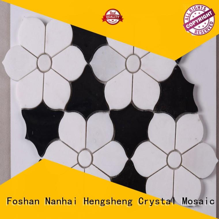 Heng Xing hexagon mosaic tile company with good price for villa