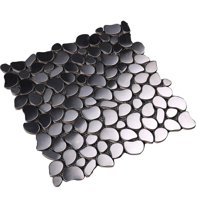 practical glass mosaic new designs metal company for bathroom-2