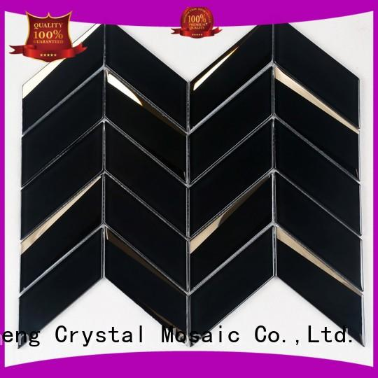 beveling glass wall tiles supplier for kitchen